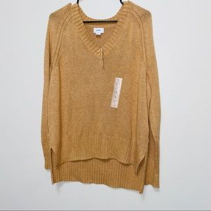 NWT Old Navy V-Neck Hi Low Sweater